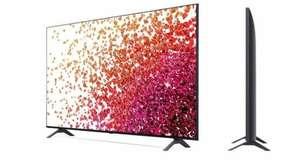 """TV 43"""" LG 43NANO756 - 4K UHD"""