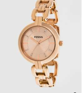Montre fossil - Rose doré