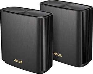 Pack de 2 Routeurs sans-fil Wi-Fi Tri-bande Asus ZenWiFi AX (XT8) - Noir