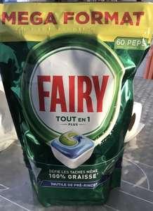Paquet de 60 Capsules Fairy Gratuit (via BDR - Magasins Participants)