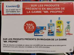 Sélection de produits Mr Propre en promotion - Vallauris (06)