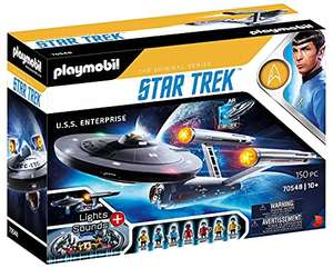 Jouet Playmobil Star Trek U.S.S. Enterprise NCC-1701 - 70548