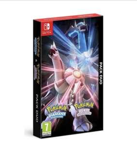 [Précommande] Pack Duo Pokémon Perle Scintillante et Diamant Étincelant sur Nintendo Switch + Steelbook + Guide