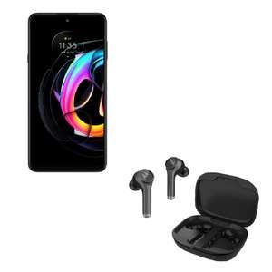 "Smartphone 6,7"" Motorola Edge 20 Lite - 5G, FullHD+, OLED 90Hz, 128Go/8Go, Dimensity 720G, 5000mAh, 108mpx + Écouteurs sans-fil Moto Buds800"