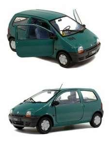 Voiture Miniature de Collection Solido Renault Twingo PH.1 - Vert Coriandre 1993, 1/18