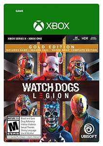 Watch Dogs: Legion - Gold Edition sur Xbox & Series X|S (Dématérialisé)