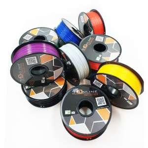 Filament 3DOnline Premium PLA 1.75mm - 10kg, Plusieurs coloris (3donline.be)