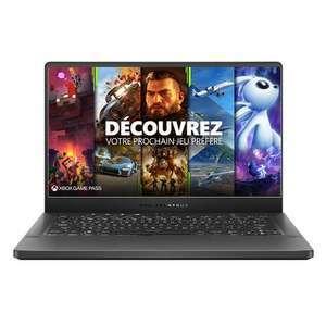 """PC Portable 14"""" Asus Zephyrus-G14-GA401QM-091T - Full HD, 165 Hz (+150€ sur le compte fidélité pour les Adhérents - Retrait en magasin)"""