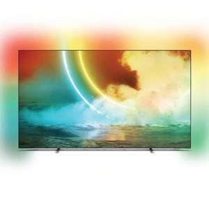 "TV 55"" Philips 55OLED705 - OLED, 4K, 100 Hz, HDR 10+, Dolby Vision, Ambilight, Android TV (+ Jusqu'à 90€ pour les Adhérents)"
