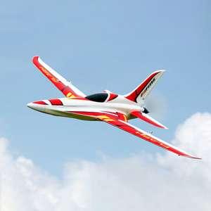 Avion RC Jet FMS Flash 850MM (180 km/h) - PNP avec Stabilisateur Reflex
