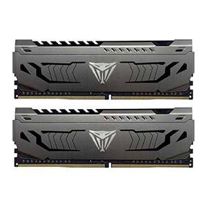 Kit mémoire RAM Patriot Viper Steel - 16Go (2 x 8Go), DDR4, 3600 MHz - CL18