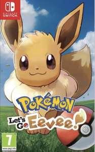 Jeu Pokémon Let's Go Evoli sur Nintendo Switch et d'autres … (Retrait magasin uniquement)
