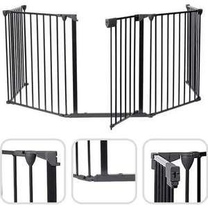 Barrière de sécurité enfants pour poêle à granulés - 300x75cm (Vendeur Tiers)