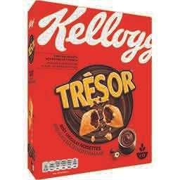 Lot de 3 paquets de céréales Kellogg's Trésor - 3 x 410g