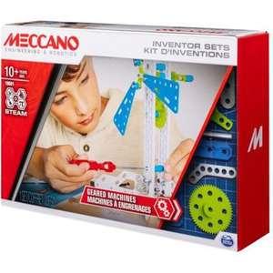 Kit d'inventions Meccano - Set 3 engrenages