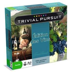 Jeu de société Trivial Pursuit : Édition des Vins ou Gastronomie