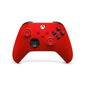 Manette sans fil Microsoft Xbox - noir avec câble, rouge ou blanc