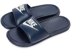 Claquettes Nike Benassi JDI - Bleu, Tailles 40, 41, 45 & 46