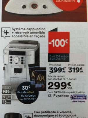 Machine à café en grain De'Longhi Magnifica S Ecam 22.140.B (+20€ en Bon d'Achat BUT + 30€ de café via ODR)