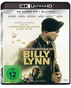 Blu-Ray 4K UHD + Blu-Ray Un Jour Dans La Vie De Billy Lynn (Import Allemagne avec piste audio FR)