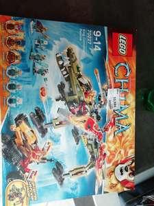 Jeu de construction Lego Chima King Crominus Rescue n°70227 - KLO à Villefranche-sur-Saône (69)
