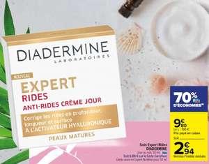 Crème de Jour Expert Rides Diadermine - Peaux Matures (via 6.86€ sur la Carte Fidélité)