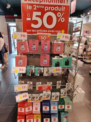 2 paquets de 50 films instantanés Fujifilm pour Instax Mini - Mulhouse (68) / Nantes Centre (44)