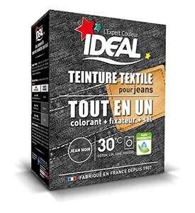 Teinture poudre Tout-en-1 pour textile Ideal TE1 Maxi Jean Noir (350g)