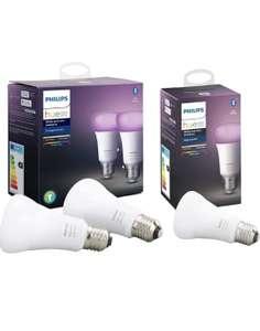 Pack de 3 ampoules Philips Hue White & Color - E27