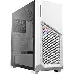 """Boitier PC Antec DP502 Flux White - ATX, RGB, Baie 5.25"""" (5 ventilateurs inclus)"""