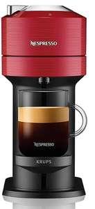 Cafetière à capsules Krups Nespresso Vertuo Next YY4800FD (Rouge) + 52 capsules