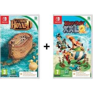 Pack Fort Boyard + Astérix & Obélix XXL 2 sur Nintendo Switch (Code dans la boîte)