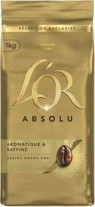 Paquet de Café en grains L'Or Absolu - 1Kg (via BDR de 2€)