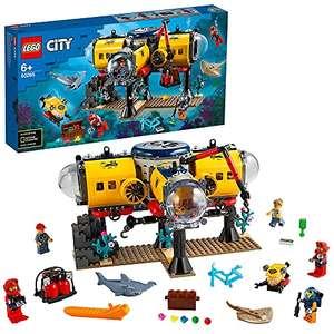 Jouet Lego City (60265) - La Base d'exploration océanique (Via coupon)