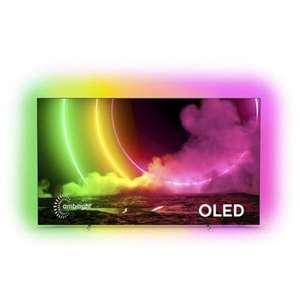 """TV OLED 48"""" Philips 48OLED806 - 4K UHD, Ambilight 4 côtés, Smart TV"""