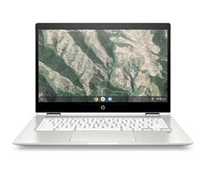 """PC portable convertible tactile 14"""" HP Chromebook x360 14b-ca0000sf - HD, Pentium Silver N5030 , 4 Go RAM, 64 Go eMMC, Chrome OS"""