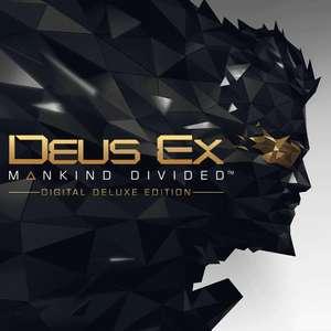 Deus Ex : Mankind Divided - Digital Deluxe Edition : Jeu de base + Season Pass sur PC (Dématérialisé - Steam)