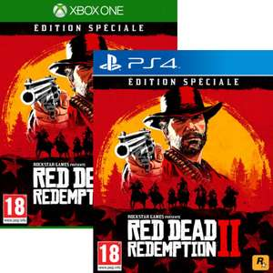 Jeu Red Dead Redemption 2 Edition Spéciale sur PS4 ou Xbox One (Retrait magasin uniquement)