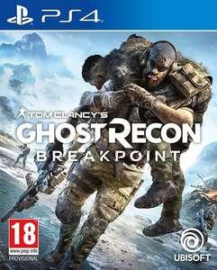 Tom Clancy's Ghost Recon Breakpoint sur PS4 (vendeur tiers)