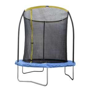 Trampoline avec filet de protection - 2,44m x 2,43m (Via 29.07€ sur la carte fidélité)
