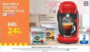 Machine à dosettes Bosch Tassimo Style TAS1103JV + 2 paquets offerts