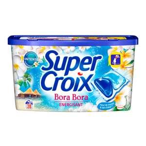 2 boîtes de 44 pods de lessive Super Croix