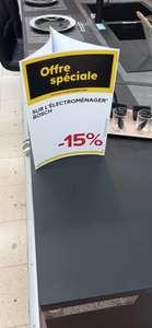 -15% sur l'électroménager Bosch (Hors exceptions) - Bondues (59)