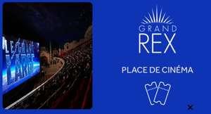 1 Place de cinéma au Grand Rex - Paris (75)
