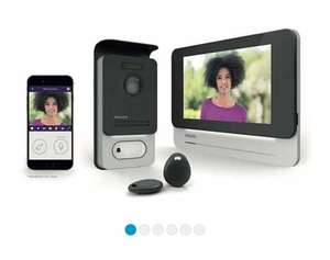 """Visiophone connecté 7"""" Philips Welcom Eye Connect 531002"""