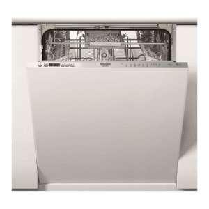 Lave vaisselle tout intégrable Hotpoint HI3C41CW - 14 couverts