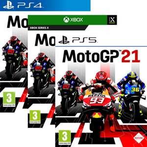 MotoGP 21 sur PS5, PS4 ou Xbox Series X