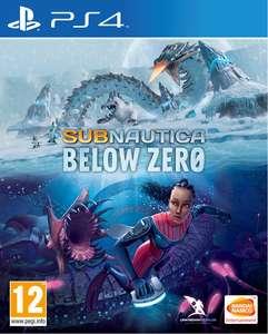 Subnautica: Below Zero sur PS4 (vendeur tiers)