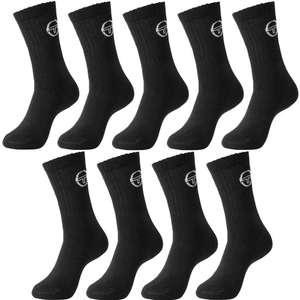 Lot de 9 paires de chaussettes ou socquettes Sergio Tacchini - différents coloris