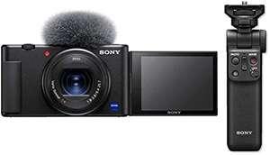 Appareil photo numérique Sony ZV-1 (20.1 Mpix, CMOS, optique Zeiss) + poignée Bluetooth